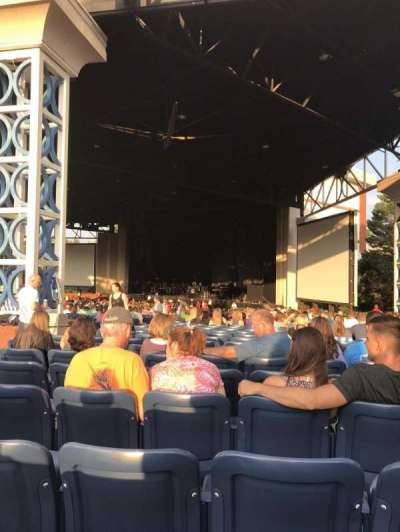Coastal Credit Union Music Park at Walnut Creek, section: 4, row: DD, seat: 28