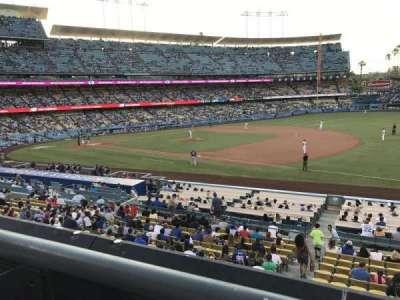 Dodger Stadium, section: 146LG, row: A, seat: 1