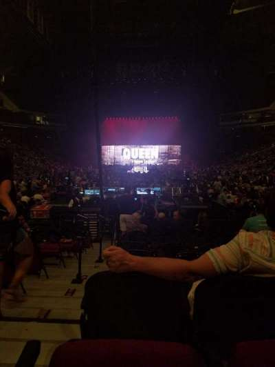Prudential Center, section: 3, row: 3, seat: 10