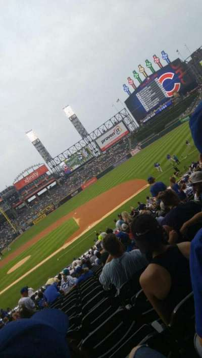 Guaranteed Rate Field, section: 124, row: 32, seat: 5