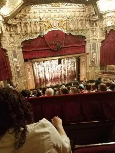 Oriental Theatre, section: BALCLC, row: N, seat: 333
