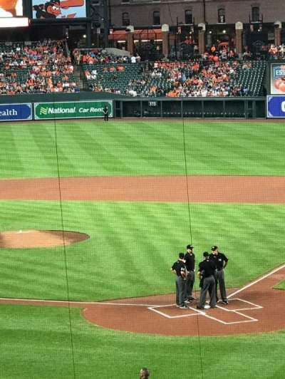 Oriole Park at Camden Yards, section: 39, row: 6, seat: 8