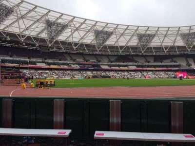 London Stadium section 131