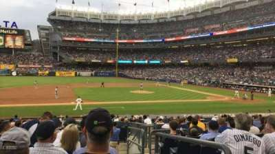 Yankee Stadium, section: 125, row: 11, seat: 1