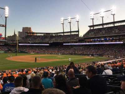 Comerica Park, section: 138, row: 27, seat: 4