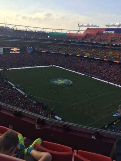 FedEx Field, section: 448, row: 3, seat: 6