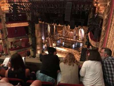 PrivateBank Theatre, section: Balcony R, row: C, seat: 2