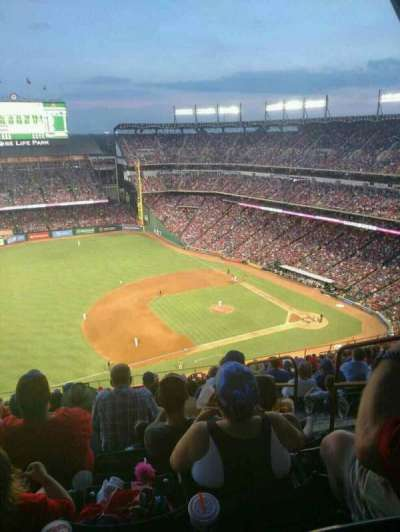Globe Life Park in Arlington, section: 316, row: 22, seat: 23