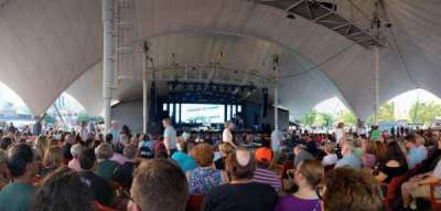 Pier Six Pavilion, section: 204, row: AA, seat: 6