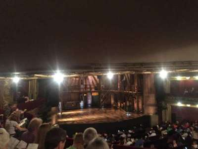 CIBC Theatre, section: Dress Circle L, row: D, seat: 1