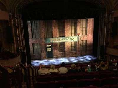 Al Hirschfeld Theatre, section: MezzC, row: H, seat: 115