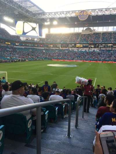 Hard Rock Stadium, section: 130, row: 16, seat: 24