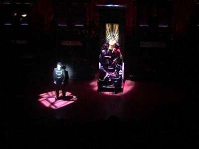 Longacre Theatre, section: Balcony, row: F, seat: 104