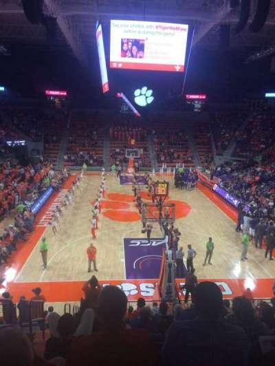 Littlejohn Coliseum, section: 101, row: V, seat: 11