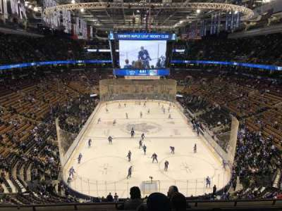 Scotiabank Arena, section: 303, row: 6, seat: 13