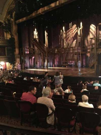 Richard Rodgers Theatre, section: Orchestra, row: M, seat: 20