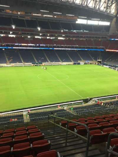 NRG Stadium, section: 340, row: P, seat: 4