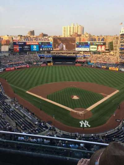 Yankee Stadium, section: 420C, row: 2, seat: 4