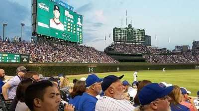 Wrigley Field, section: 4, row: 8, seat: 1