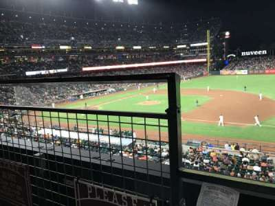 AT&T Park, section: 205, row: A, seat: 16