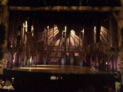 Richard Rodgers Theatre, section: Orchestra, row: M, seat: 106