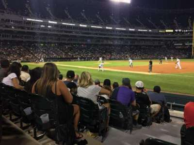 Guaranteed Rate Field, section: 119, row: 7, seat: 9
