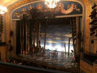 Gerald Schoenfeld Theatre, section: Mezzanine Right, row: D, seat: 16