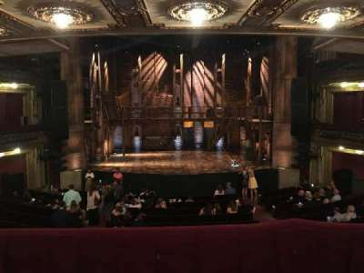 PrivateBank Theatre, section: Dress Circle C, row: A, seat: 205