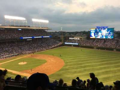 Wrigley Field, section: 534, row: 2, seat: 108