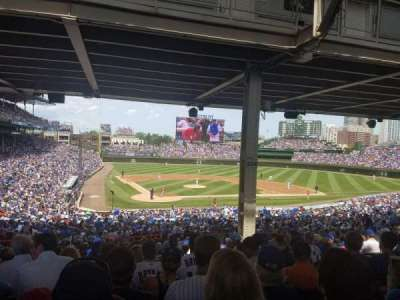 Wrigley Field, section: 224, row: 18, seat: 109
