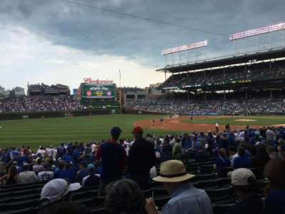 Wrigley Field, section: 108, row: 12, seat: 108