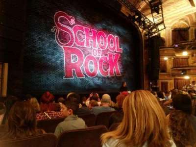 Winter Garden Theatre, section: Orch, row: G , seat: 15