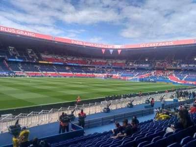 Parc des Princes, section: 103, row: 10, seat: 38