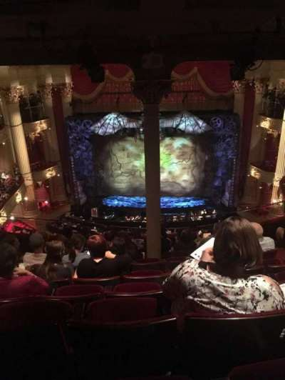 Academy of Music, section: E, row: H, seat: 104