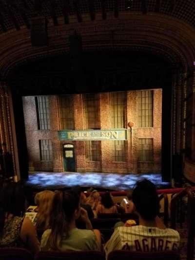 Al Hirschfeld Theatre, section: Mezz C, row: G, seat: 101