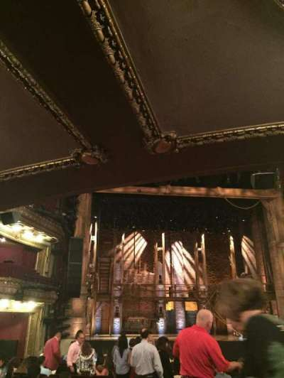 PrivateBank Theatre, section: Orchestra C, row: v, seat: 101,102