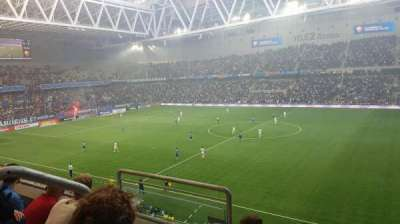 Tele2 Arena, section: B328, row: 3, seat: 352