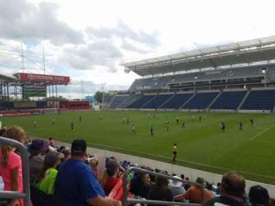 Toyota Park, section: 124, row: 14, seat: 19-20