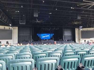 Starplex Pavilion, section: 203, row: AA, seat: 27