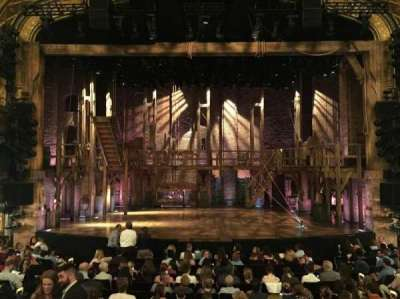 Richard Rodgers Theatre, section: Orchestra, row: O, seat: 107