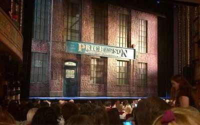 Al Hirschfeld Theatre, section: Orchestra R, row: P, seat: 13