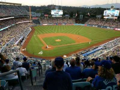 Dodger Stadium, section: 6RS, row: M, seat: 1