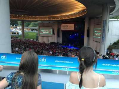 PNC Bank Arts Center section South Deck