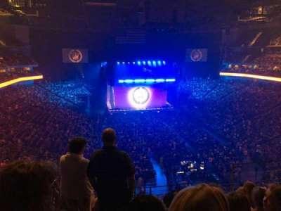 Pinnacle Bank Arena, section: 213, row: 5, seat: 5