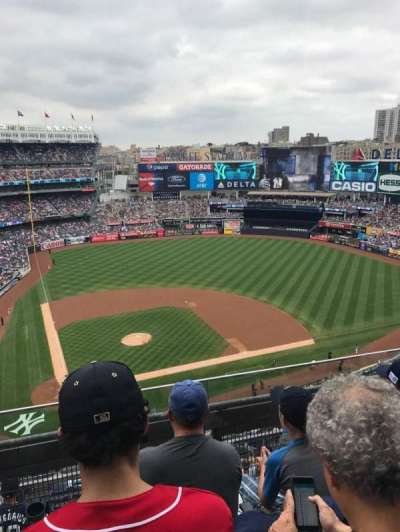 Yankee Stadium, section: 418, row: 3, seat: 11