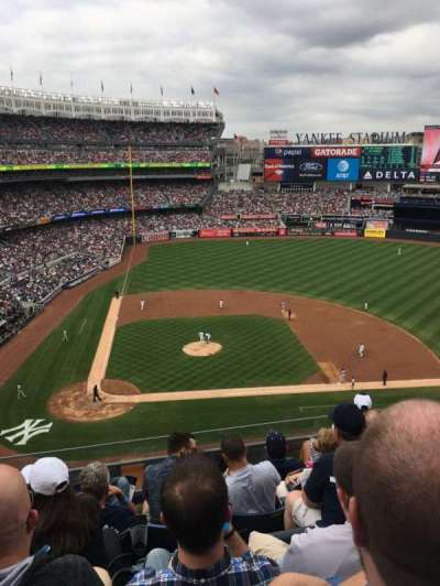 Yankee Stadium, section: 317, row: 6, seat: 9