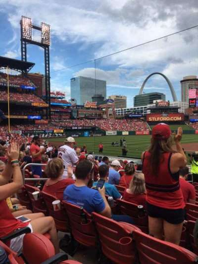 Busch Stadium section 156