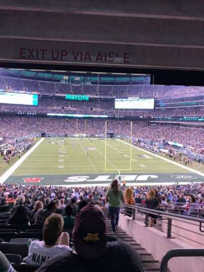 MetLife Stadium, section: 103, row: 26, seat: 4