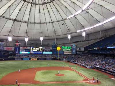Tropicana Field, section: 113, row: X, seat: 24