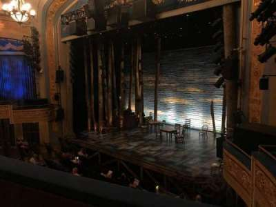 Gerald Schoenfeld Theatre, section: RIght Mezz, row: B, seat: 20